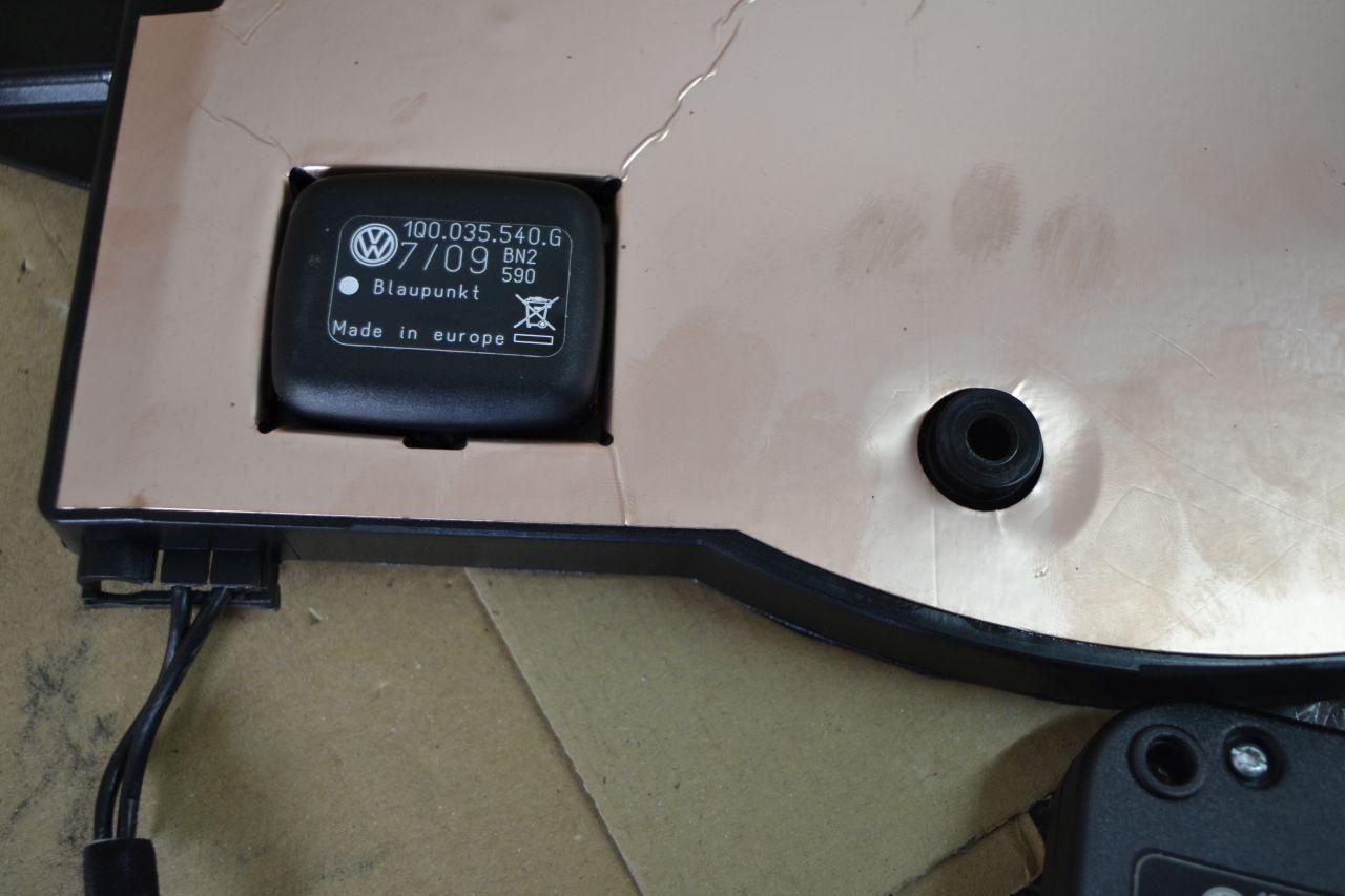 original vw eos naviantenne gps 1q0035502r 1q0972176fb. Black Bedroom Furniture Sets. Home Design Ideas
