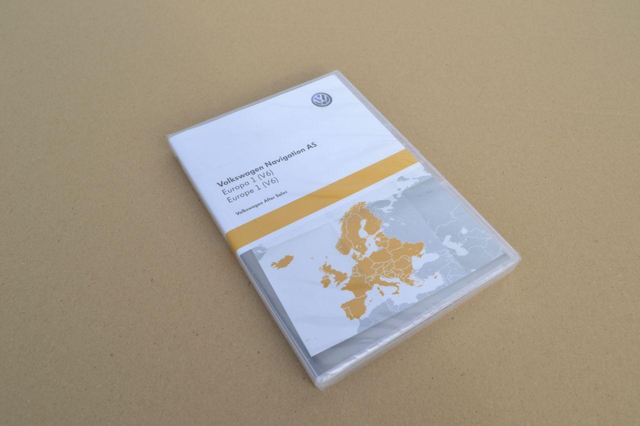 original vw navigation sd karte europa 1 v6 3g0919866aq. Black Bedroom Furniture Sets. Home Design Ideas