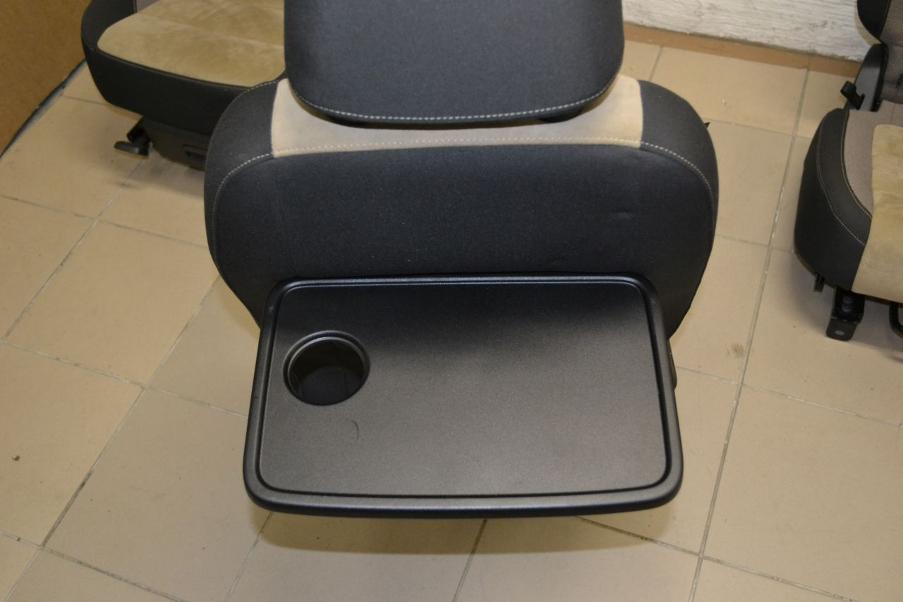 original vw tiguan sitzausstattung sitze alcantara stoff tanamibeige milan ebay. Black Bedroom Furniture Sets. Home Design Ideas