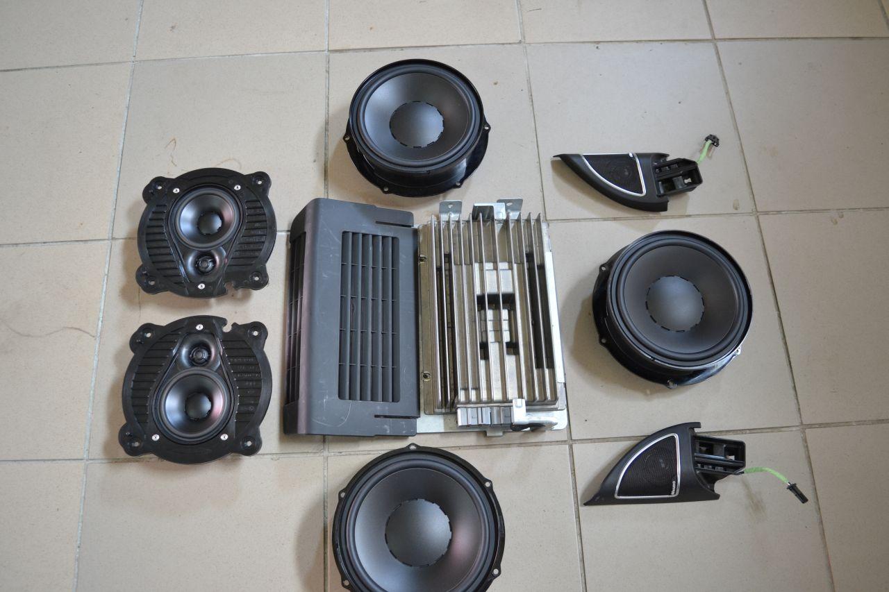 original vw golf 6 cabrio soundsystem dynaudio 5k7035456a 1q0035454d 7p6035827 ebay. Black Bedroom Furniture Sets. Home Design Ideas
