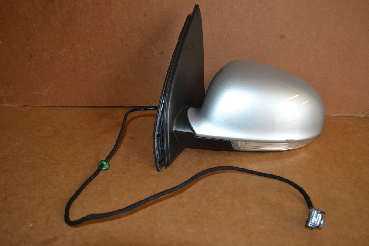 original vw golf 5 au enspiegel links la7w reflexsilber. Black Bedroom Furniture Sets. Home Design Ideas